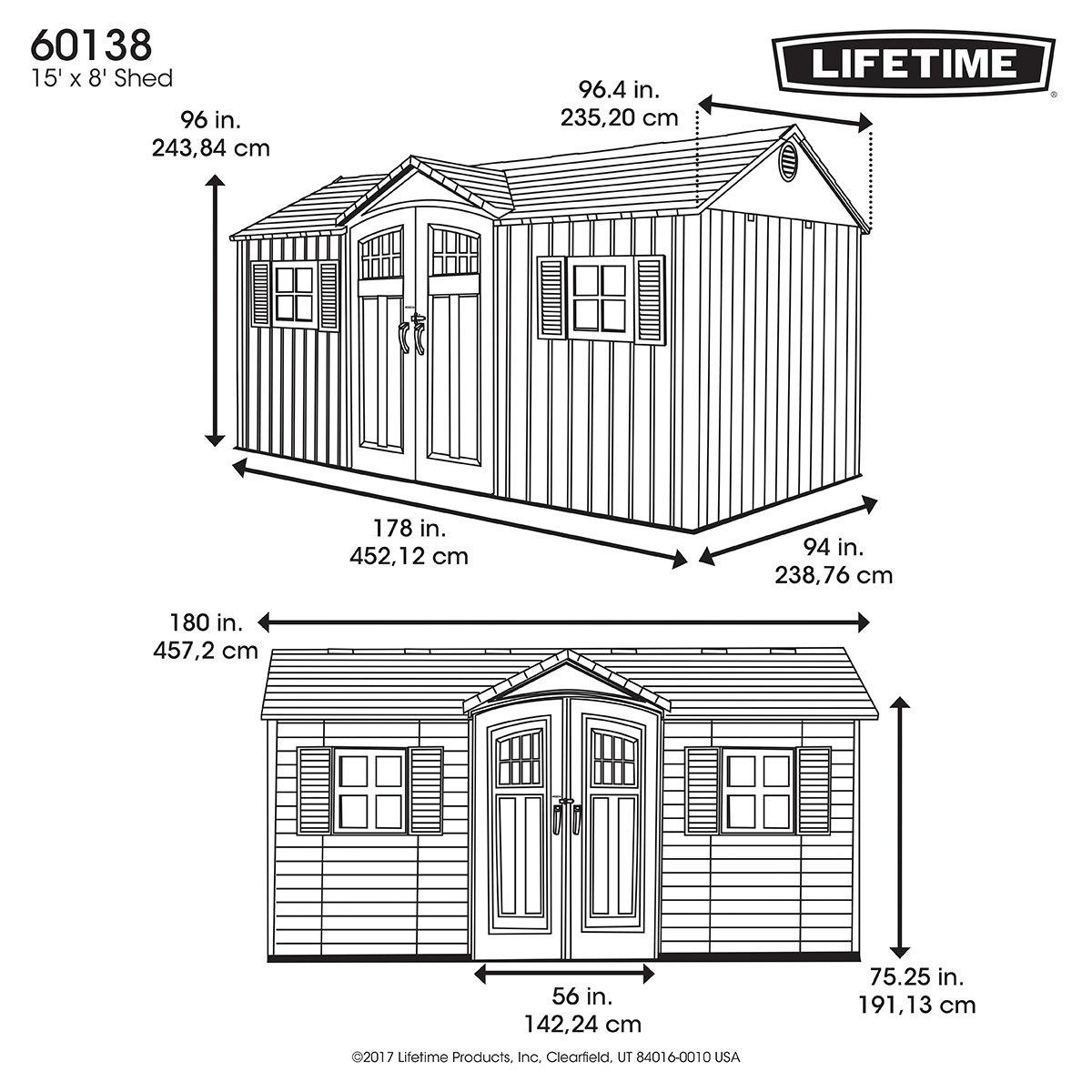 Lifetime Gerätehaus Castle | #4