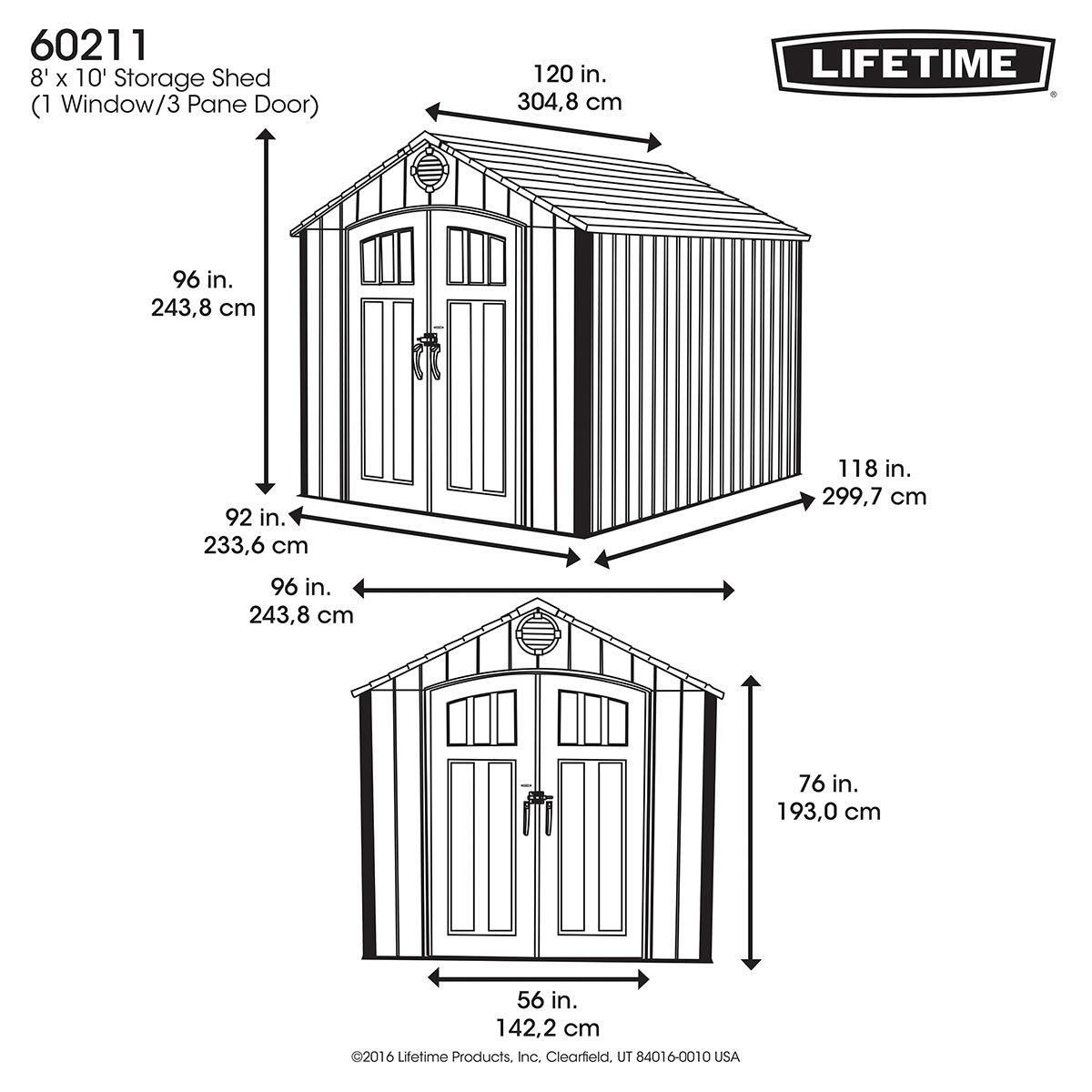 Lifetime Gerätehaus Titan | #4