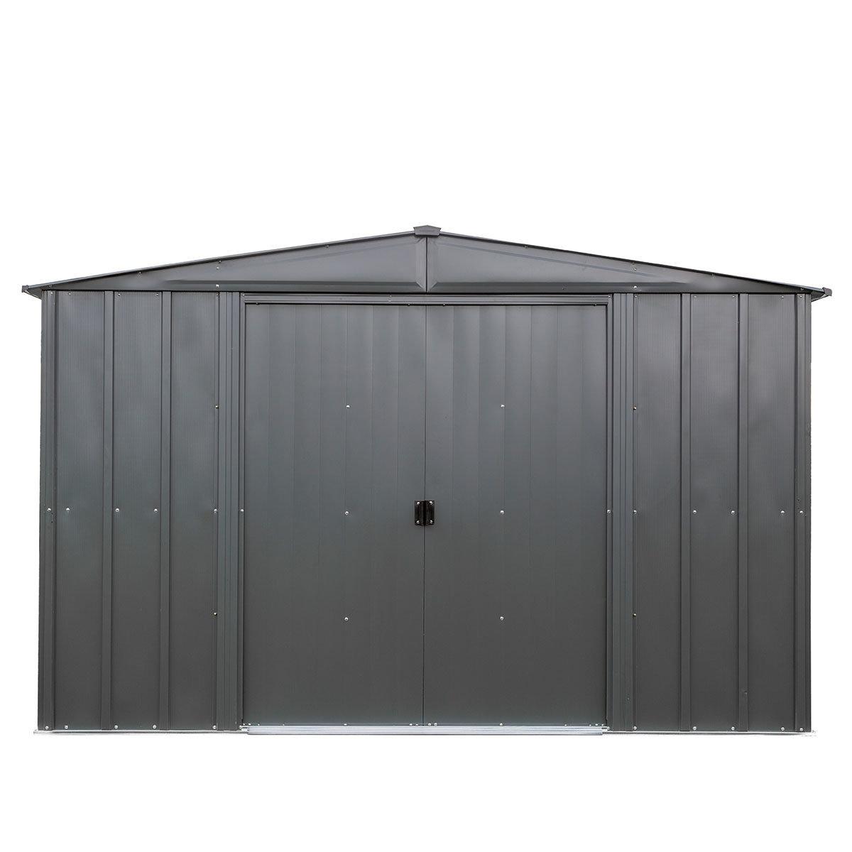Metallgerätehaus Satteldach 10x10 | #4