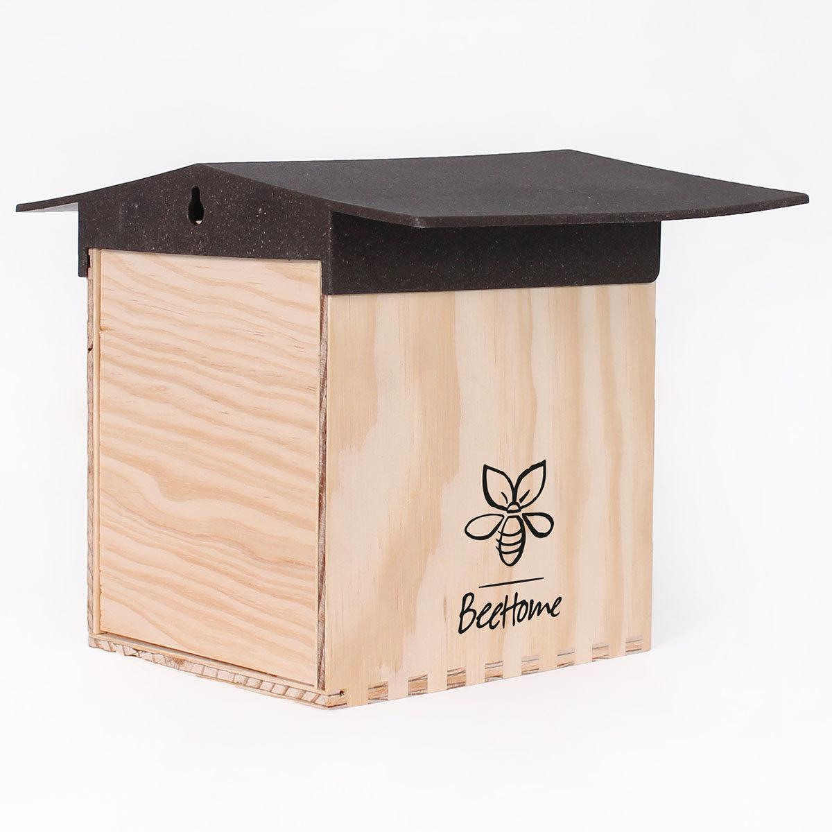 Insektenhotel BeeHome mit Gutschein für Mauerbienenkokons | #4