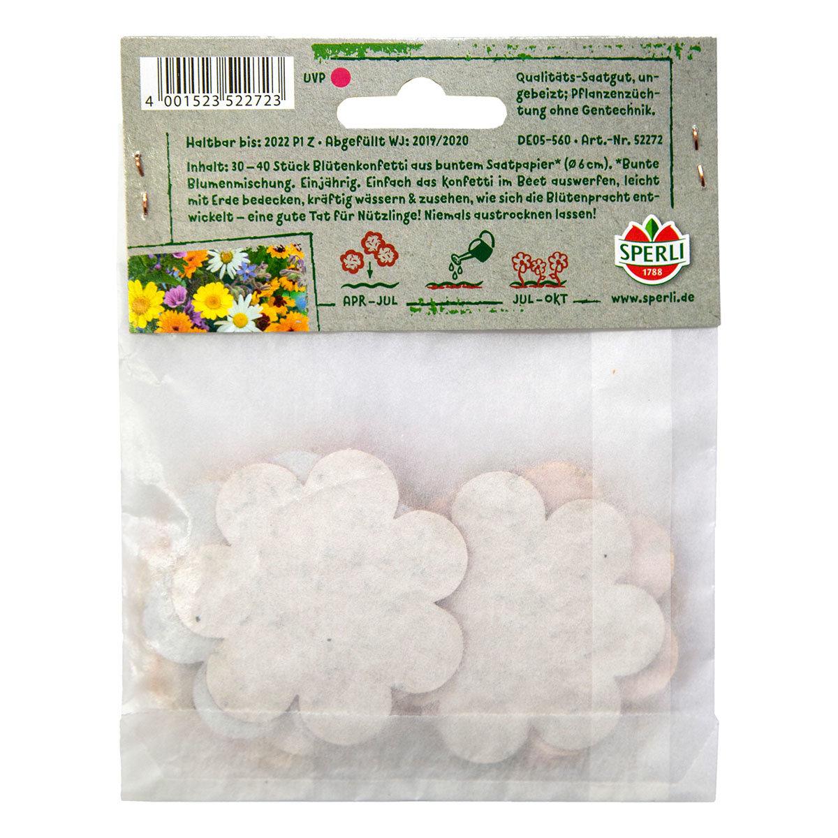 Konfetti aus Saatpapier Blütenkonfetti | #4