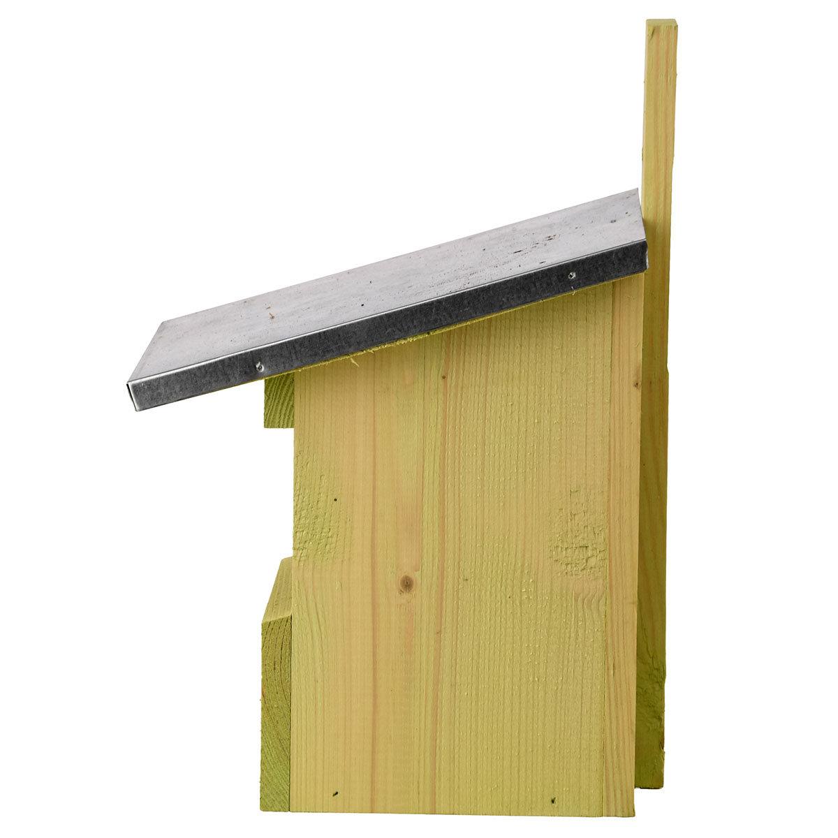 Nistkasten Rotkehlchen mit Zinkdach, ca. 21 x 19 x 33 cm | #4