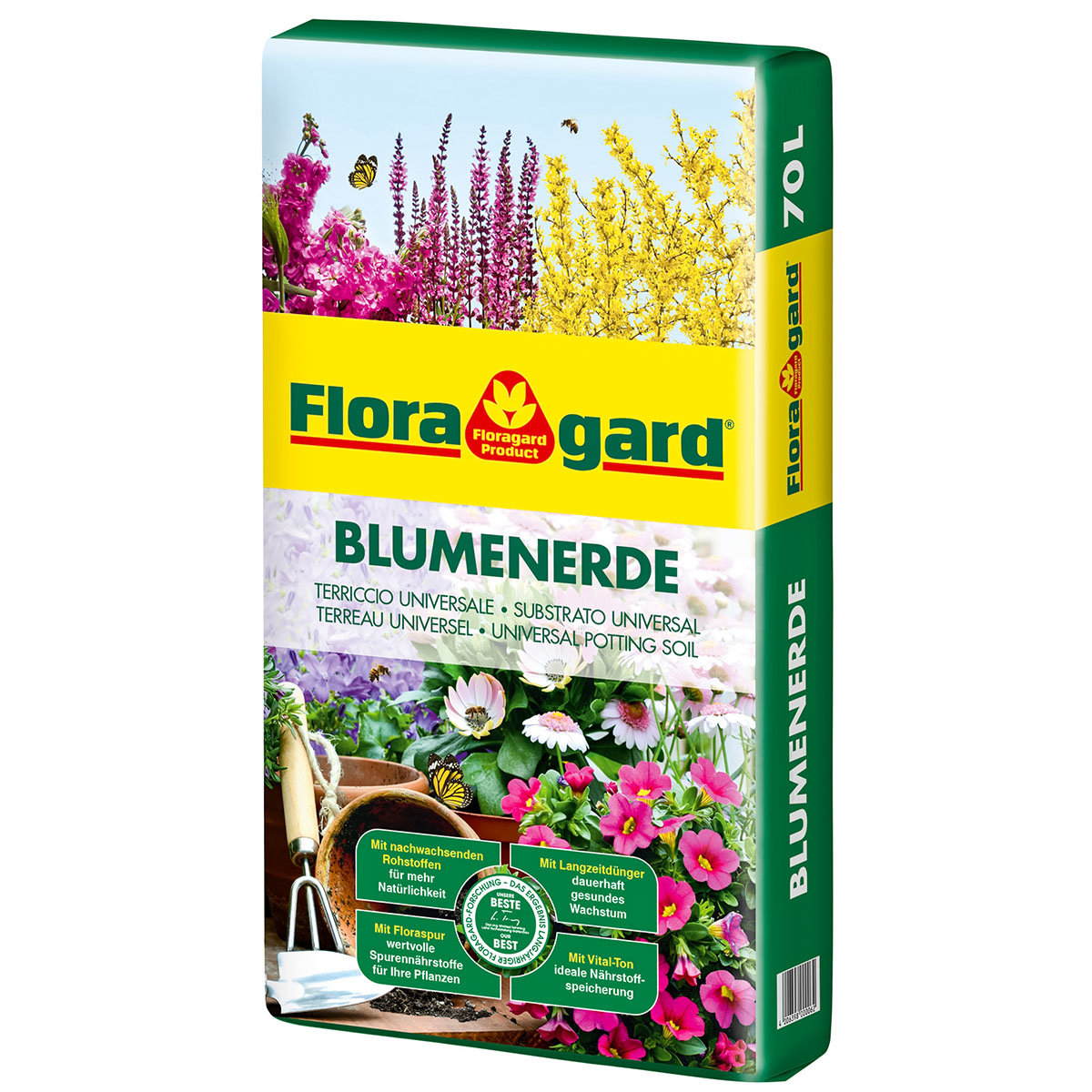 Großgebinde Blumenerde, 21 Säcke á 70 Liter | #4