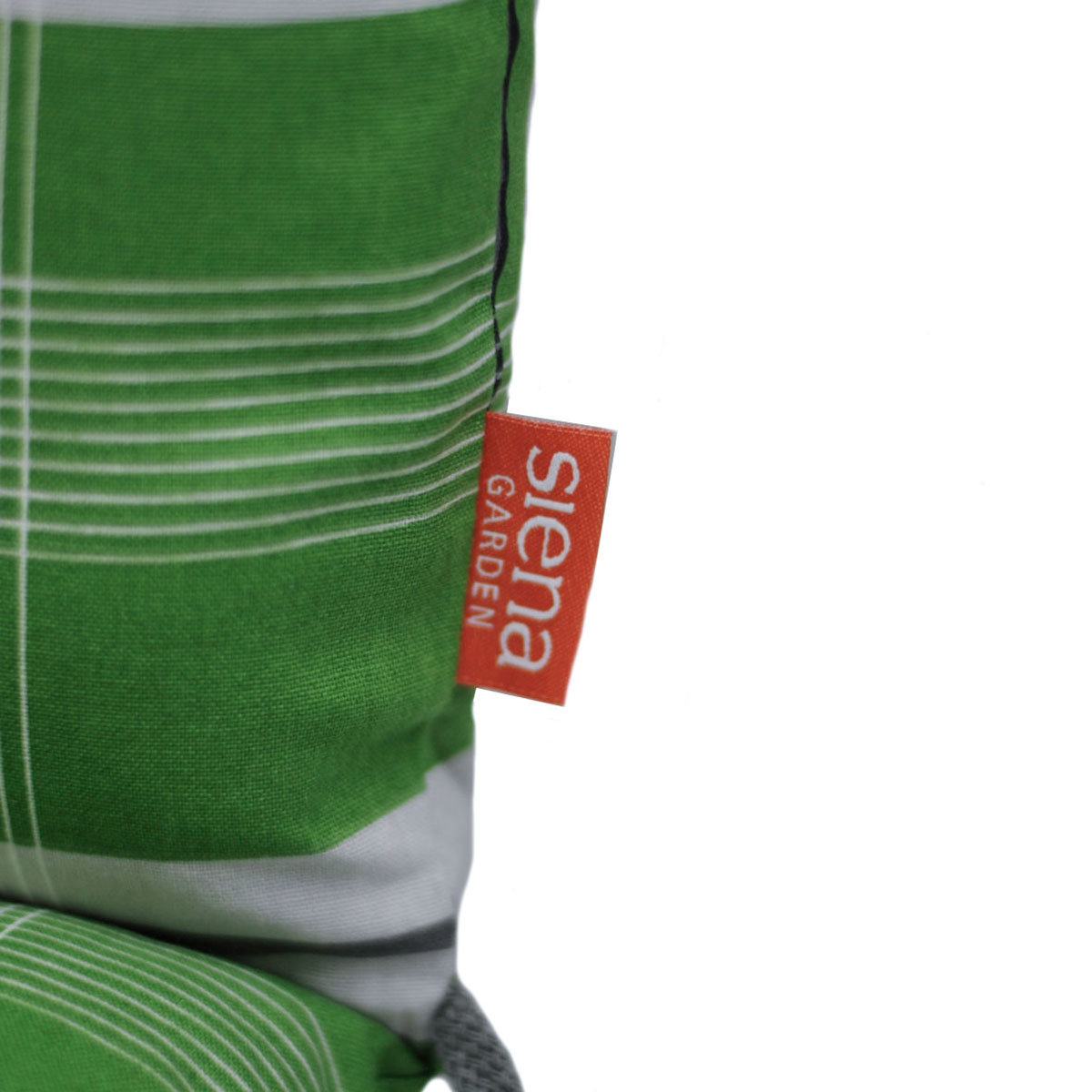Hochlehner-Auflage Gabi, karo grün | #4