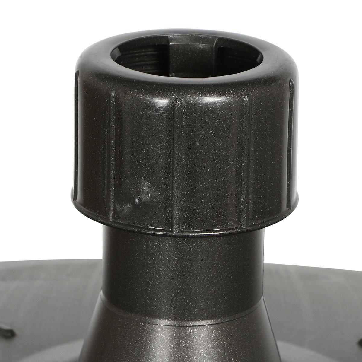 Schirmständer für Schirmstöcke 30-55 mm, 50l, mit Rolle, befüllbar, anthrazit   #4