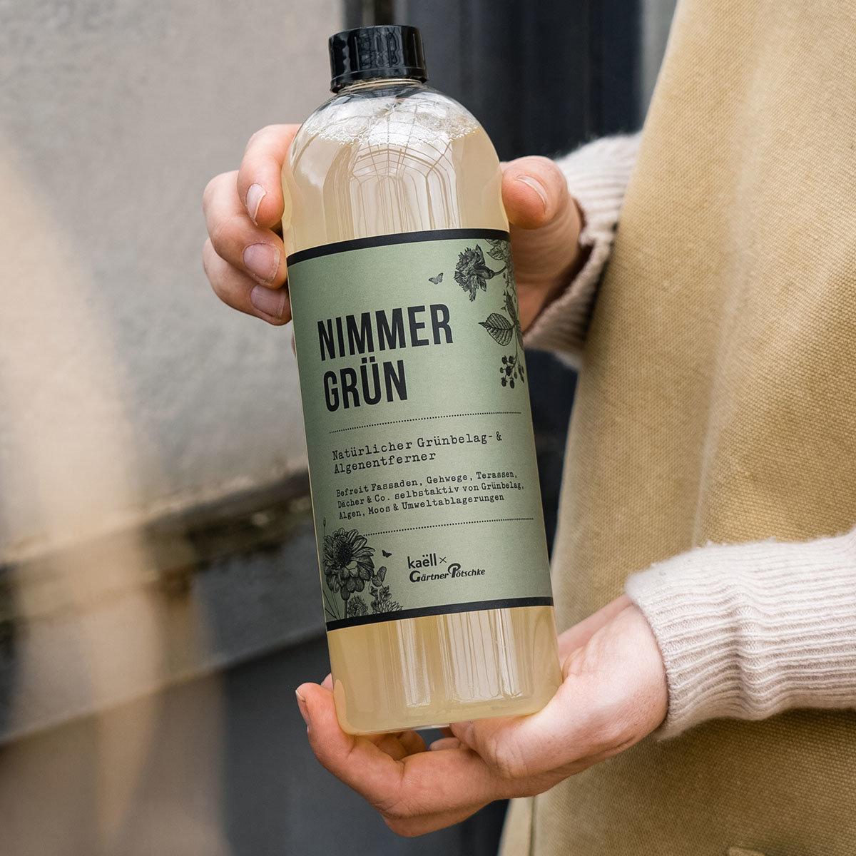 Natürliches Grünbelag- und Algenentferner-Konzentrat Nimmergrün, 750 ml | #4
