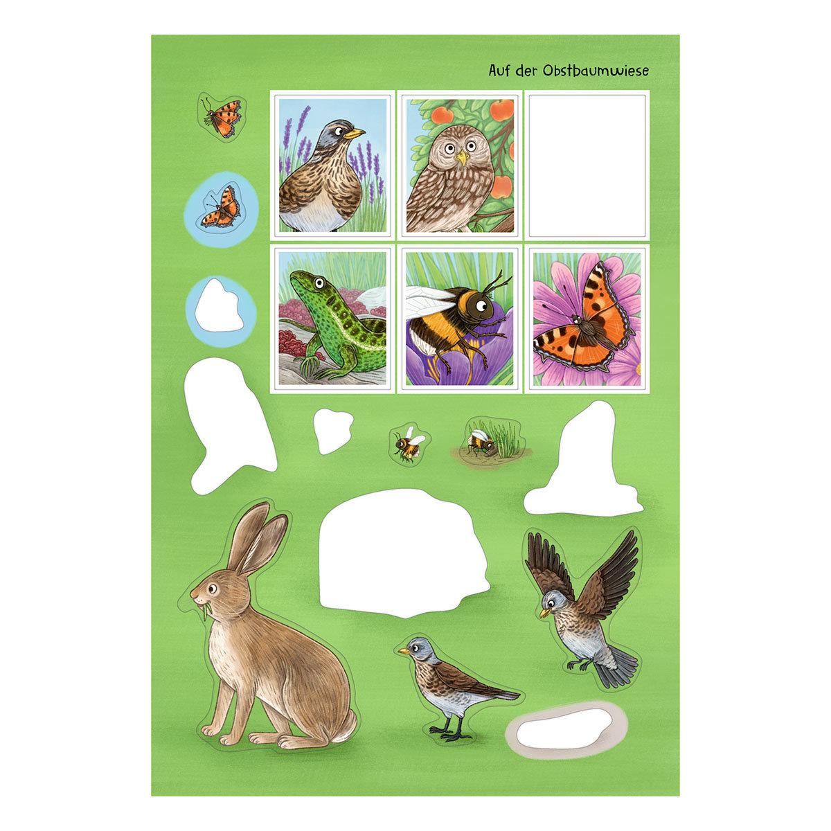 Natur-Stickerwelt: Tiere in Wald & Wiese (Nature Zoom) | #4