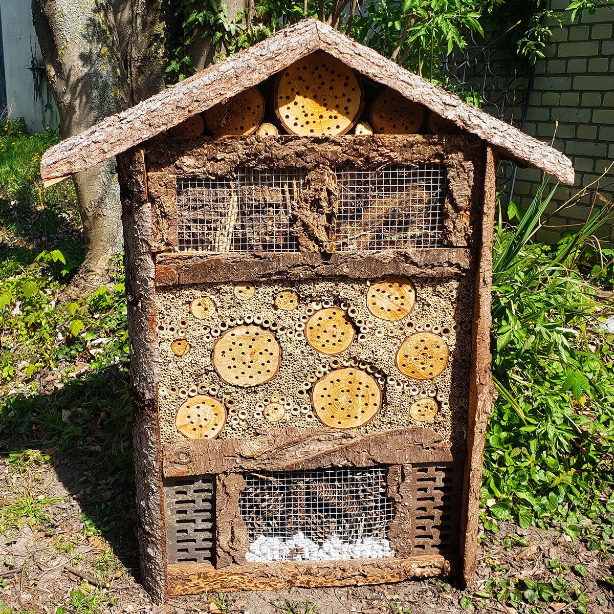 Natur-Insektenhotel, groß   #4