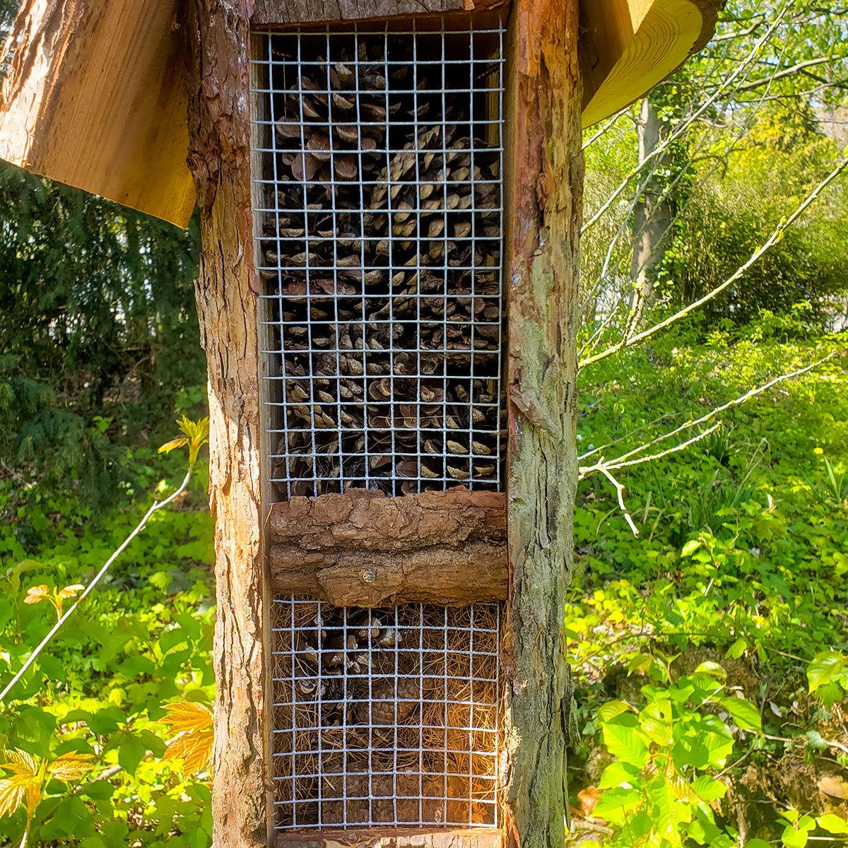Natur-Insektenhotel Turmhotel | #4
