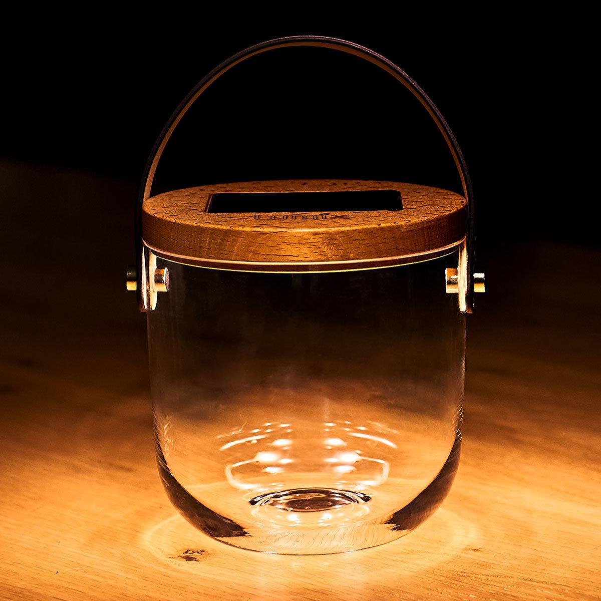Deko Glas Basic, 15 cm, Glas, Bambus , klar | #4