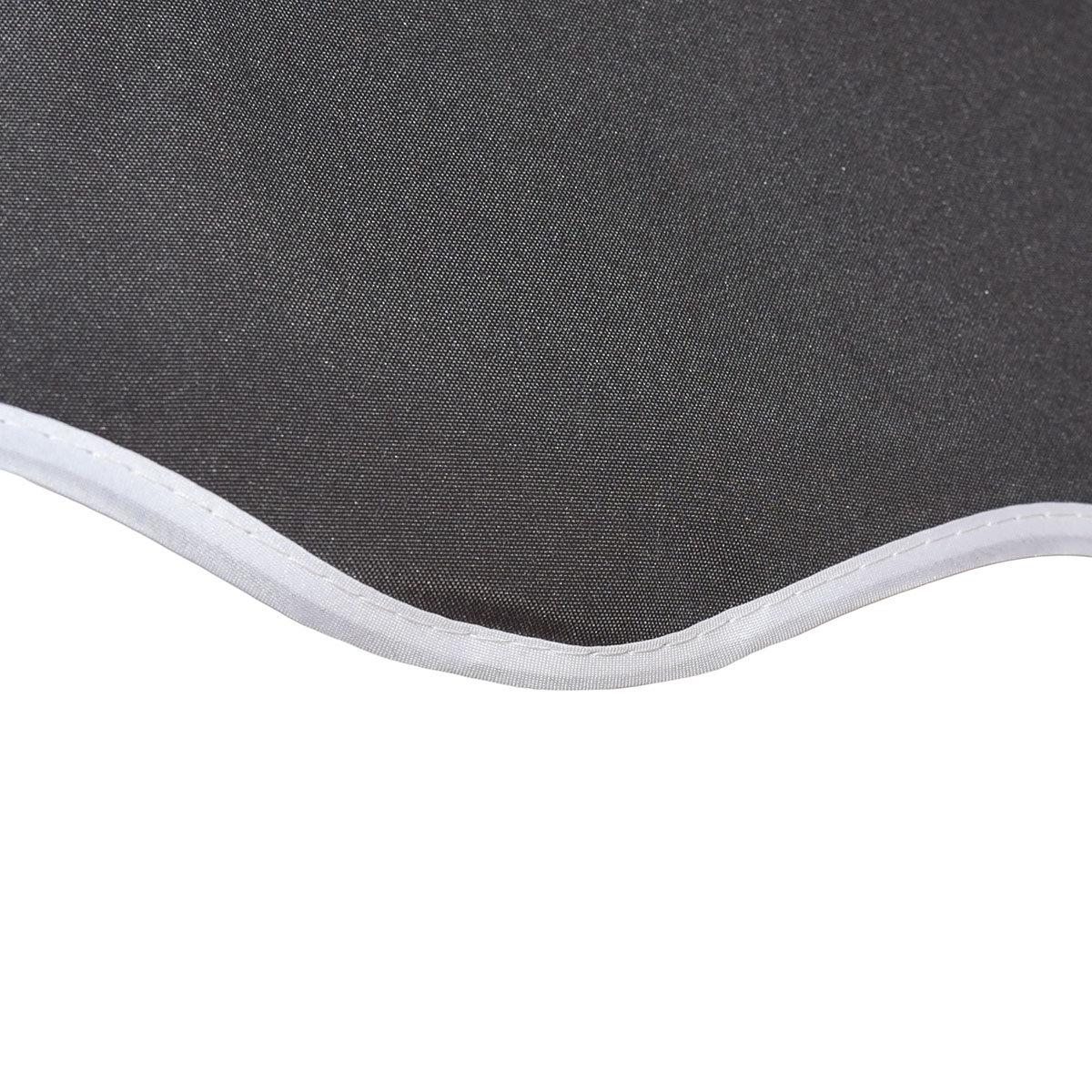 Klemmmarkise 300x300 cm, schwarz | #4