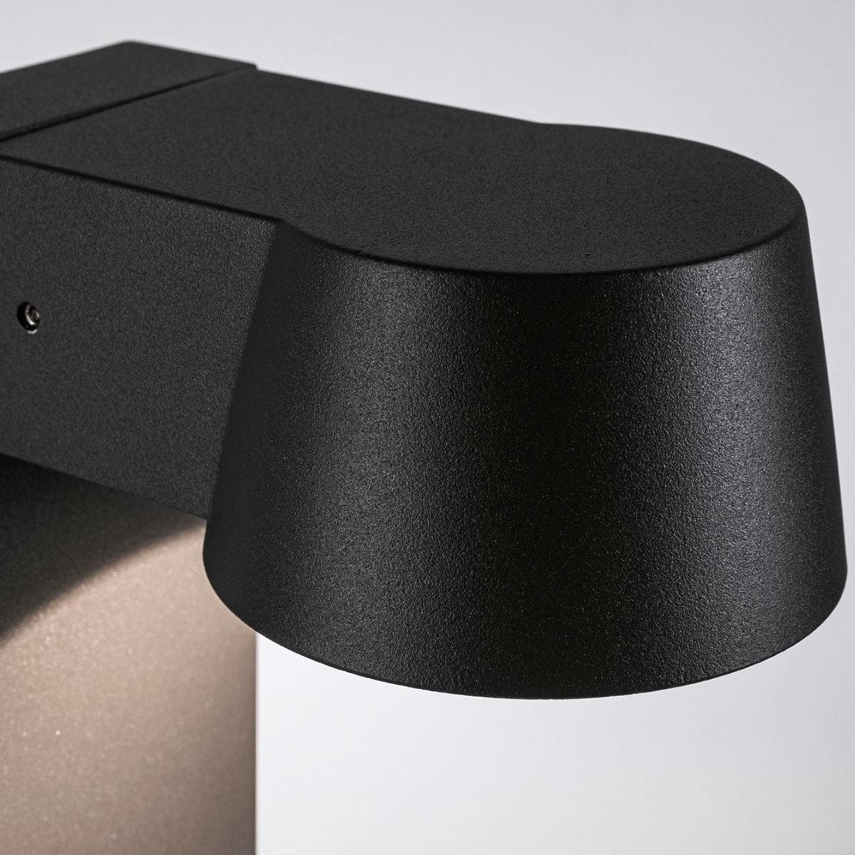 LED Outdoor Pollerleuchte Capea, 3000K 6W 230V IP44,  Alu, schwarz | #4