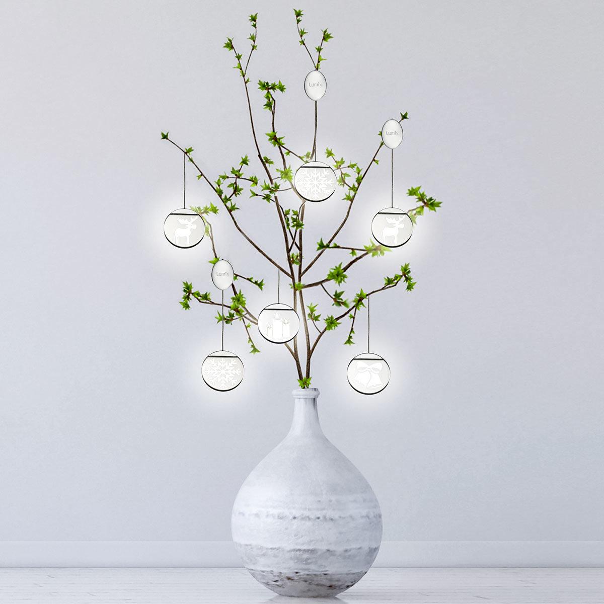 Deko-Lights Glocken, silber, Ø 10 cm | #4