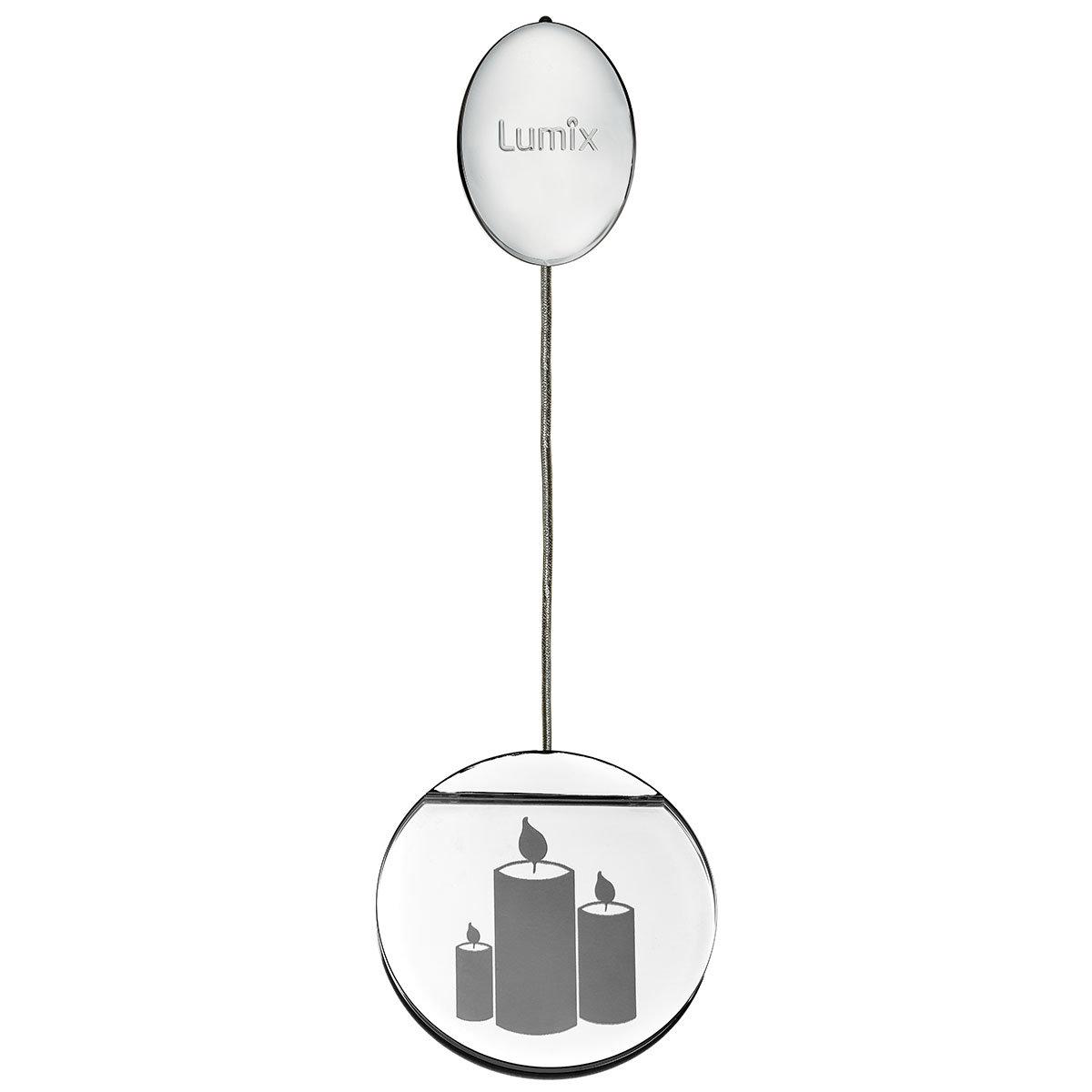 Deko-Lights Kerzen, silber, Ø 10 cm | #4