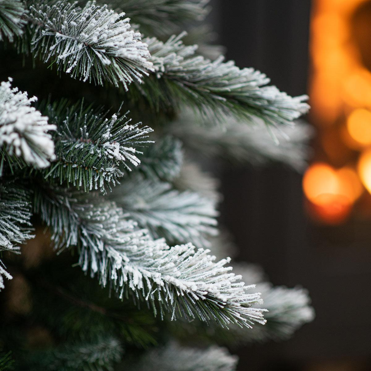 Künstlicher Weihnachtsbaum Kiefer mit Schneeoptik, 180 cm   #4