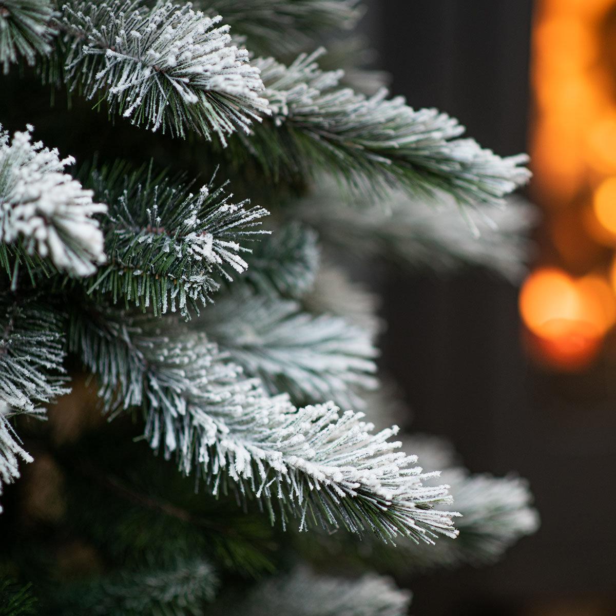 Künstlicher Weihnachtsbaum Kiefer mit Schneeoptik, 210 cm | #4
