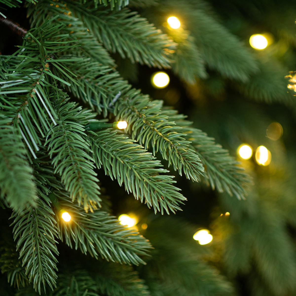 Künstlicher Weihnachtsbaum Fichte, mit LED-Beleuchtung, 150 cm | #4