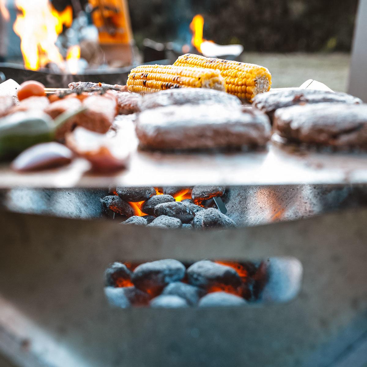 2in1 Grill & Feuerschale Fuego, Edelstahl | #4
