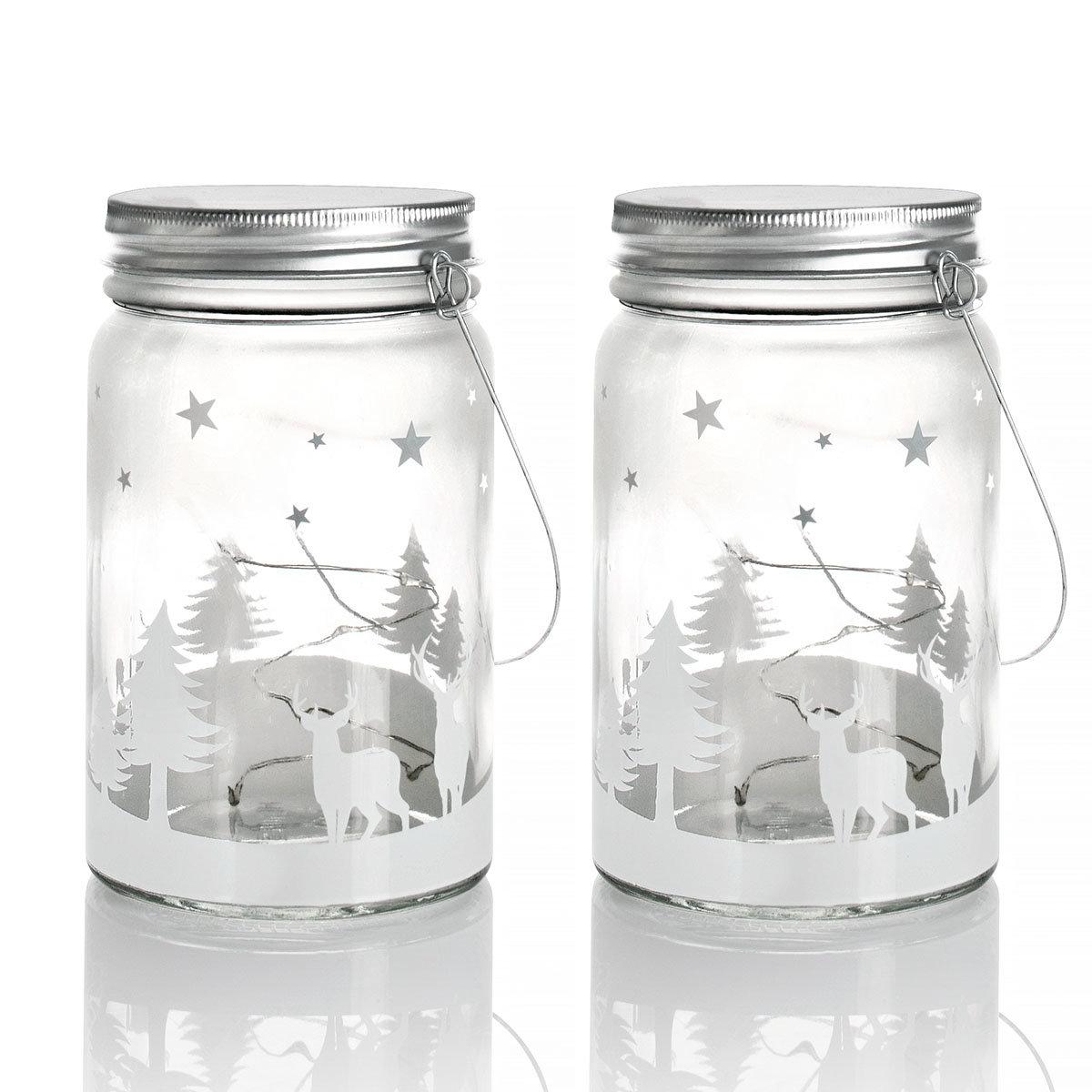 Sparset LED-Glasleuchte Weihnachten | #4