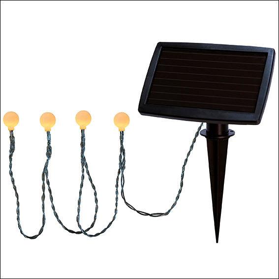 LED Solar-Lichterkette Moon Drops, 20-teilig | #4