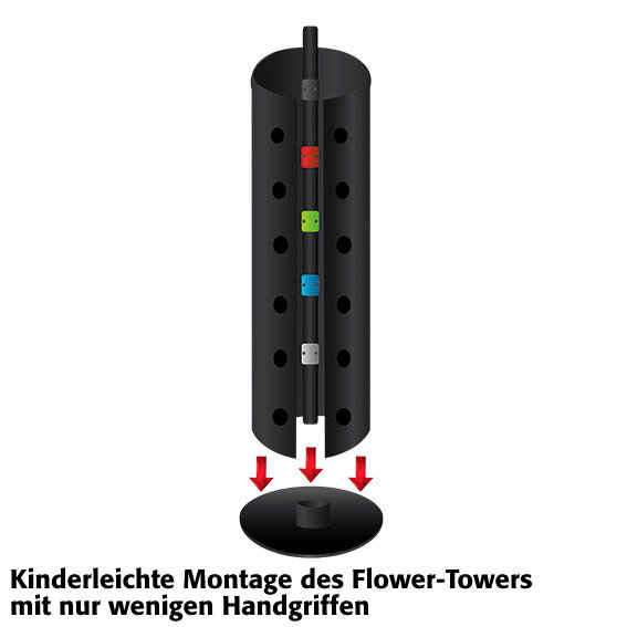 Flower Tower hängend | #4