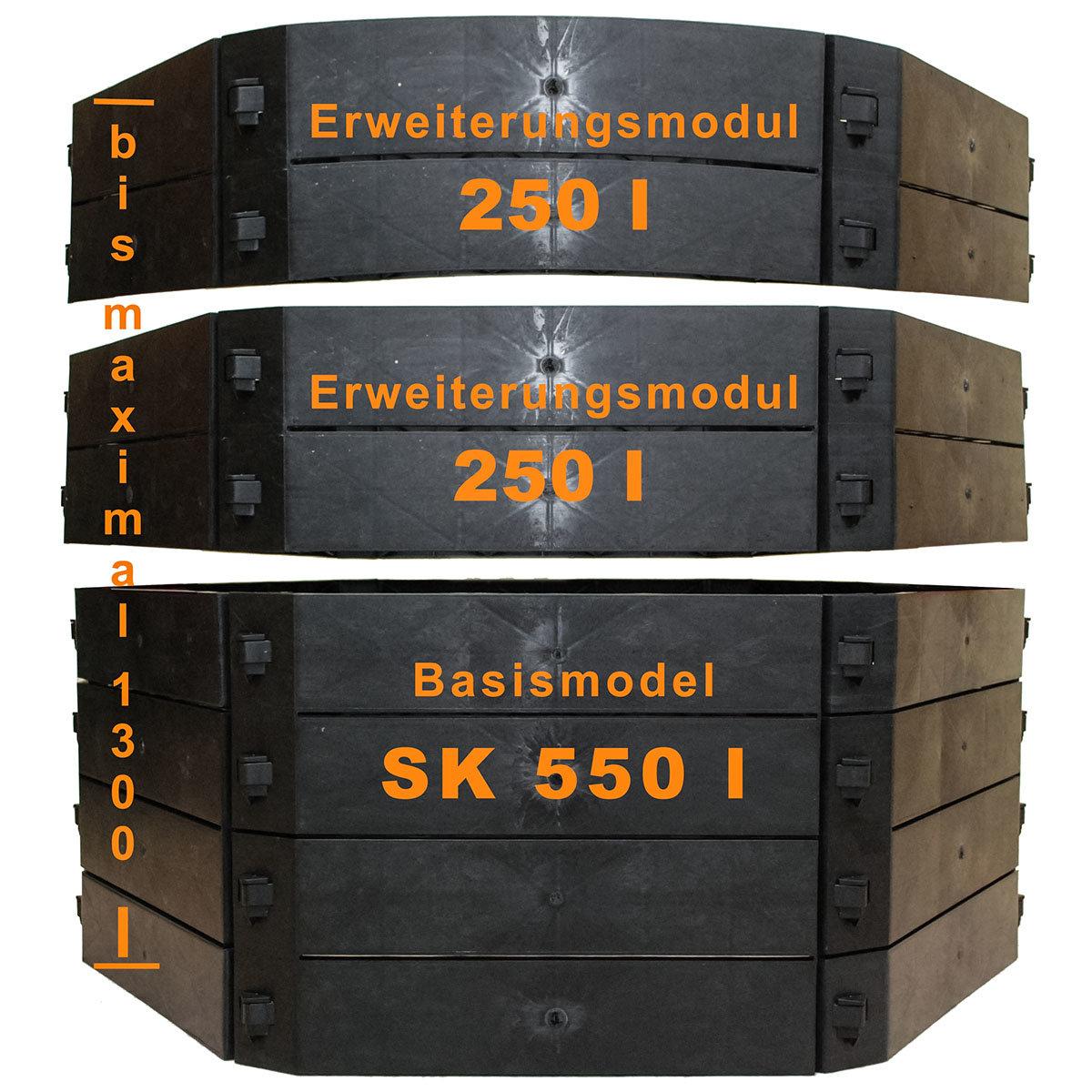Schnellkomposter Erweiterung, 250 Liter | #4
