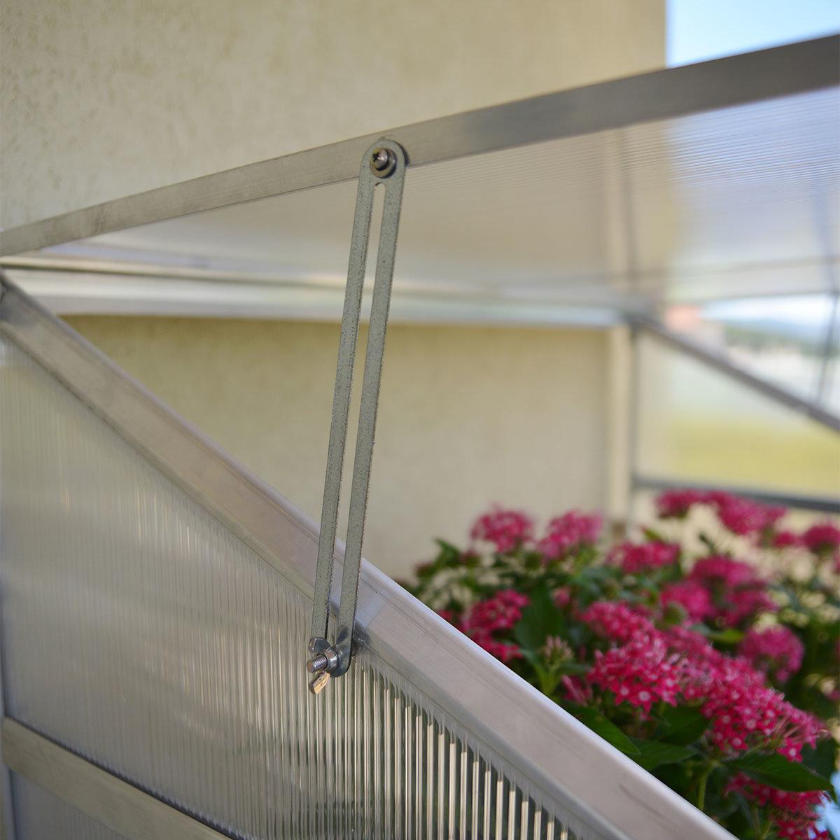 Anlehngewächshaus Multi Line inkl. Stahlfundament | #4