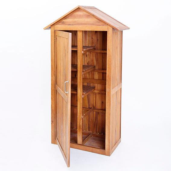 Geräteschuppen aus Akazienholz | #4