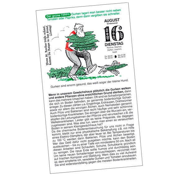 Gärtner Pötschkes Schmuckausgabe Der Grüne Wink® | #4