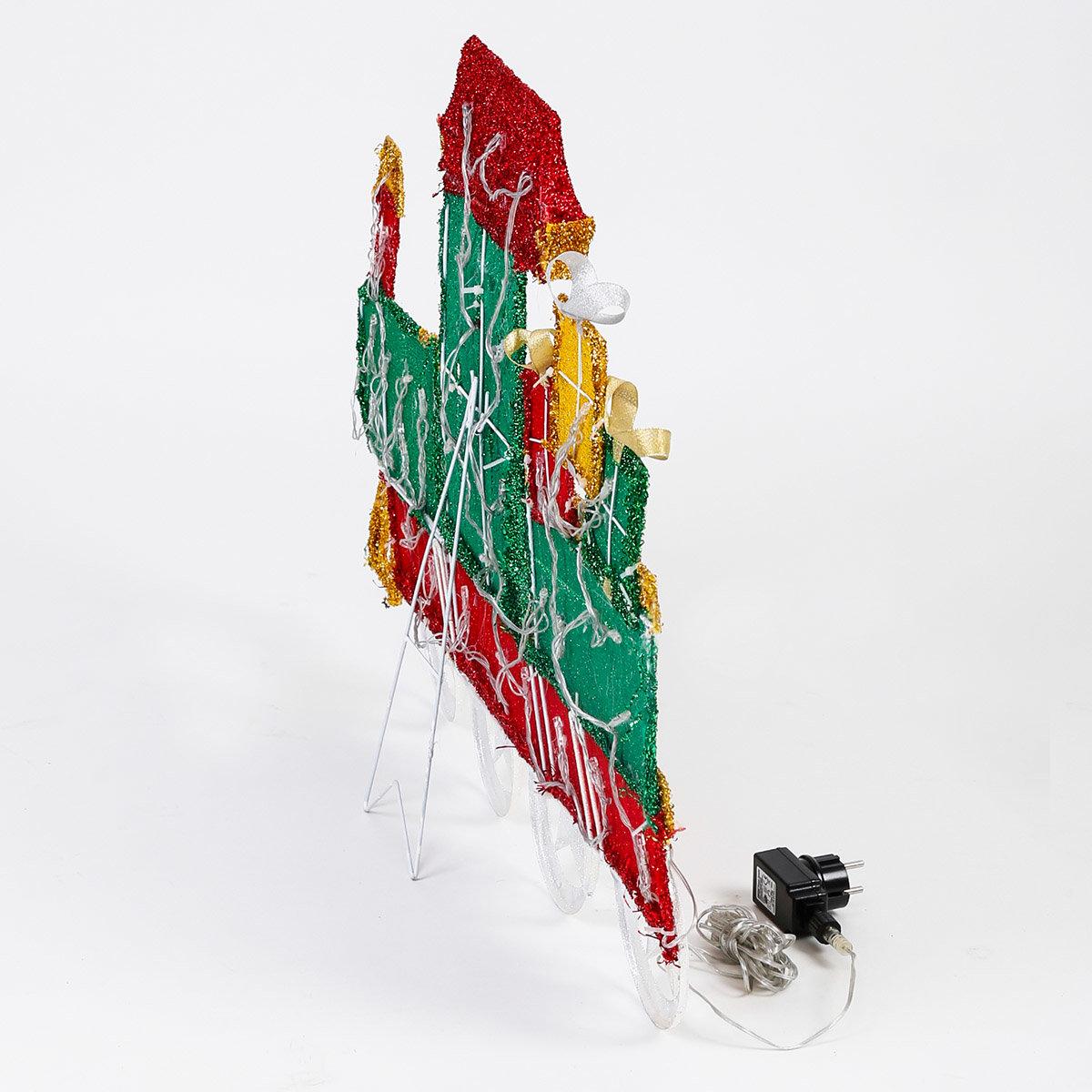LED-Weihnachts-Lokomotive Tuff-Tuff | #5
