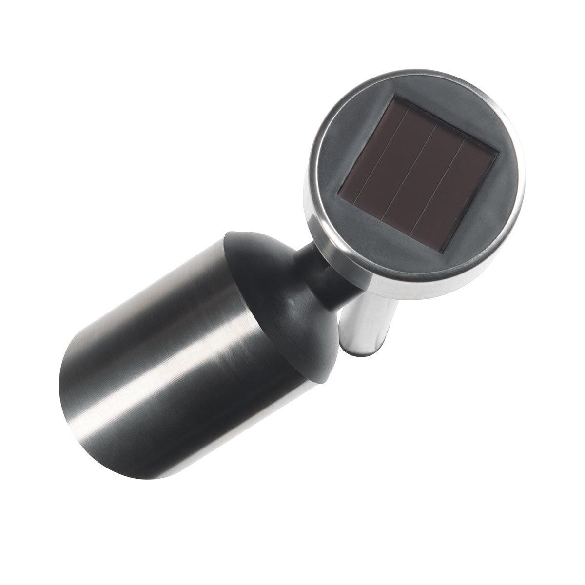 Solar-Edelstahlstrahler 4er Set | #5