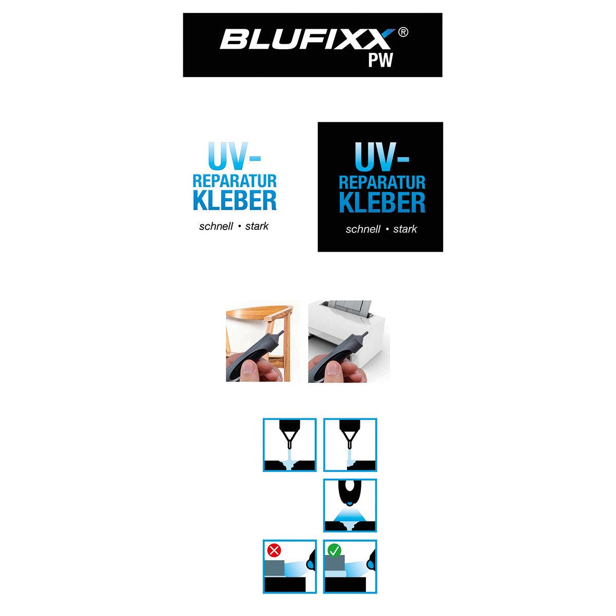 BLUFIXX Reparaturstift für Kunststoff und Holz | #5