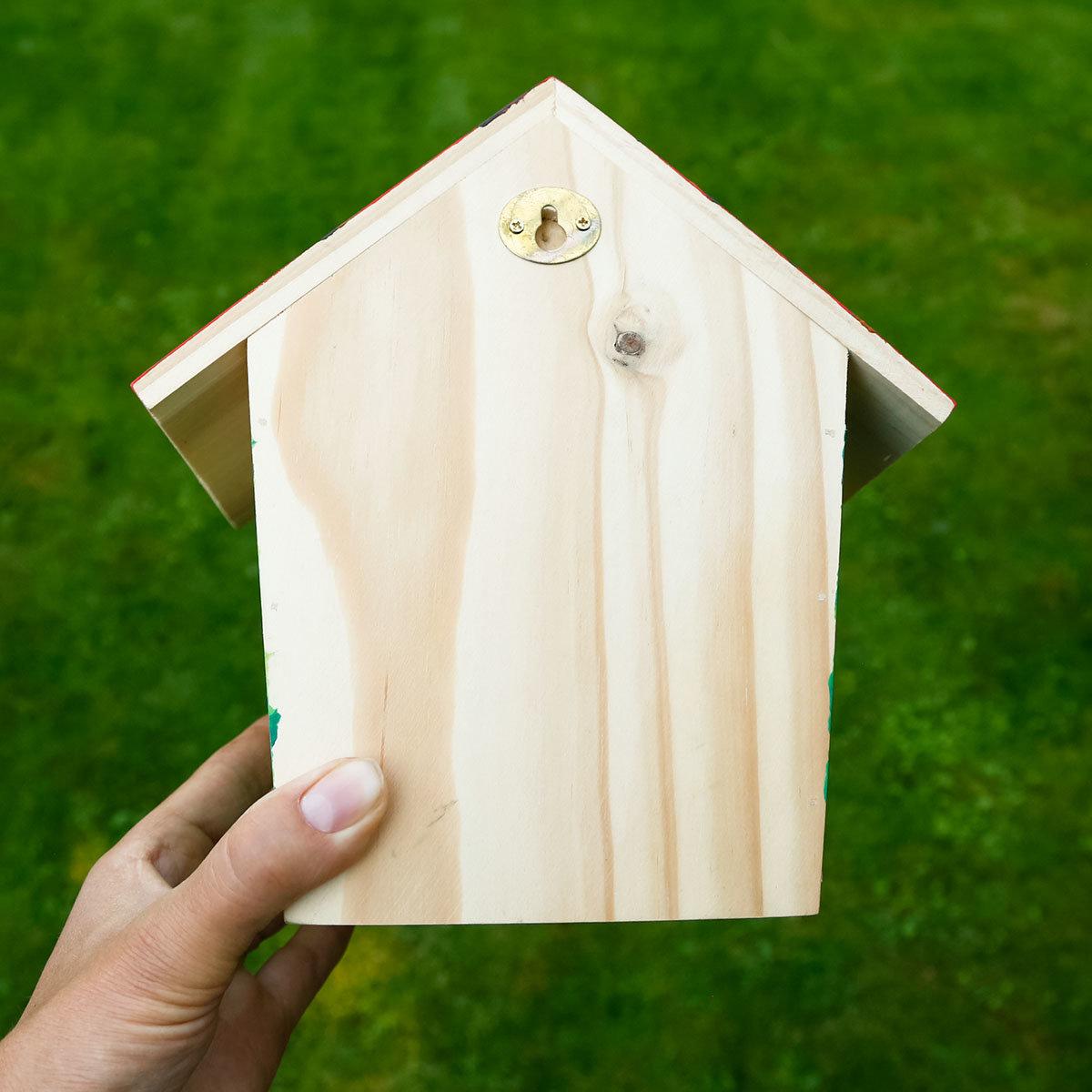 Vogelhaus zum Bemalen | #5
