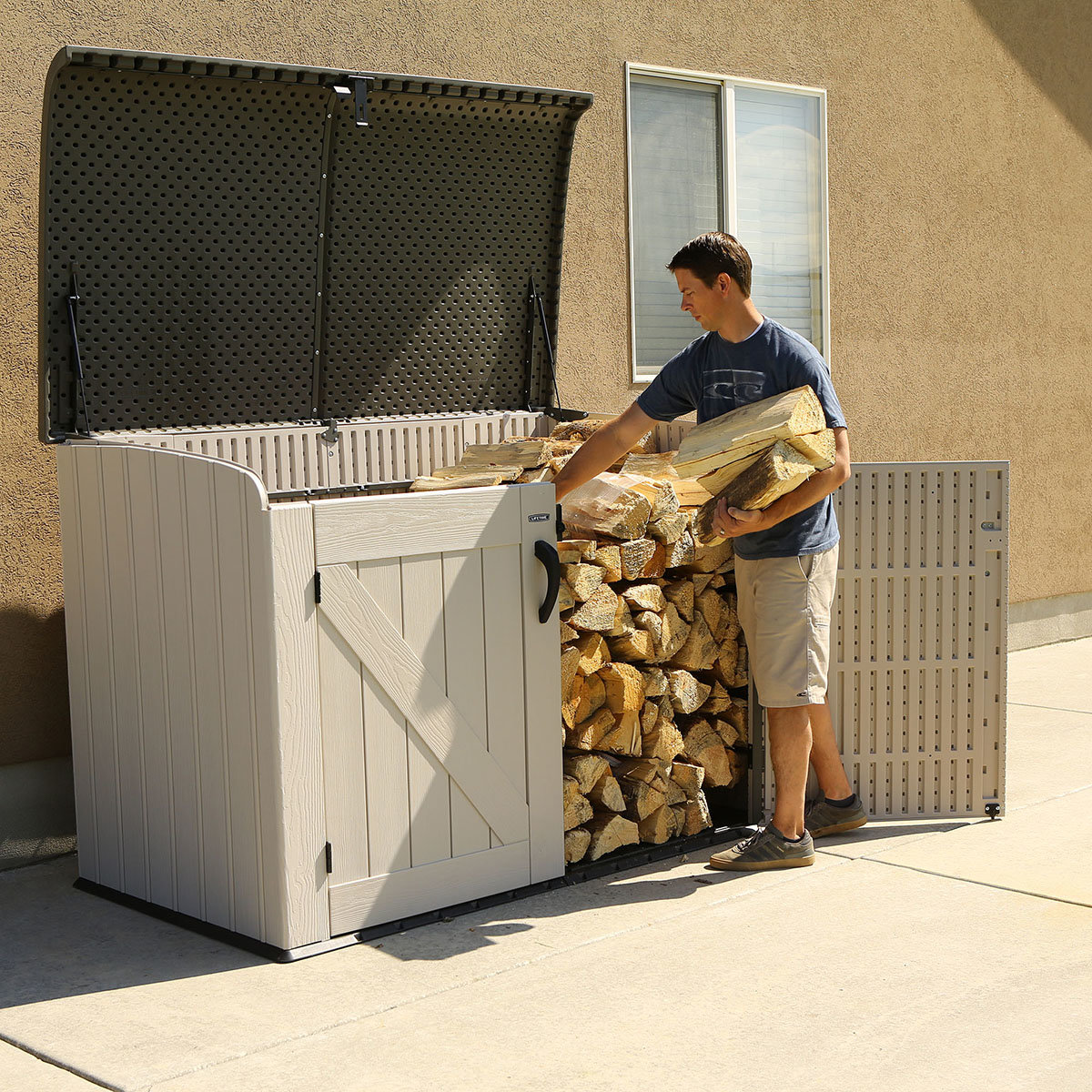 Lifetime Geräte- und Mülltonnenbox | #5