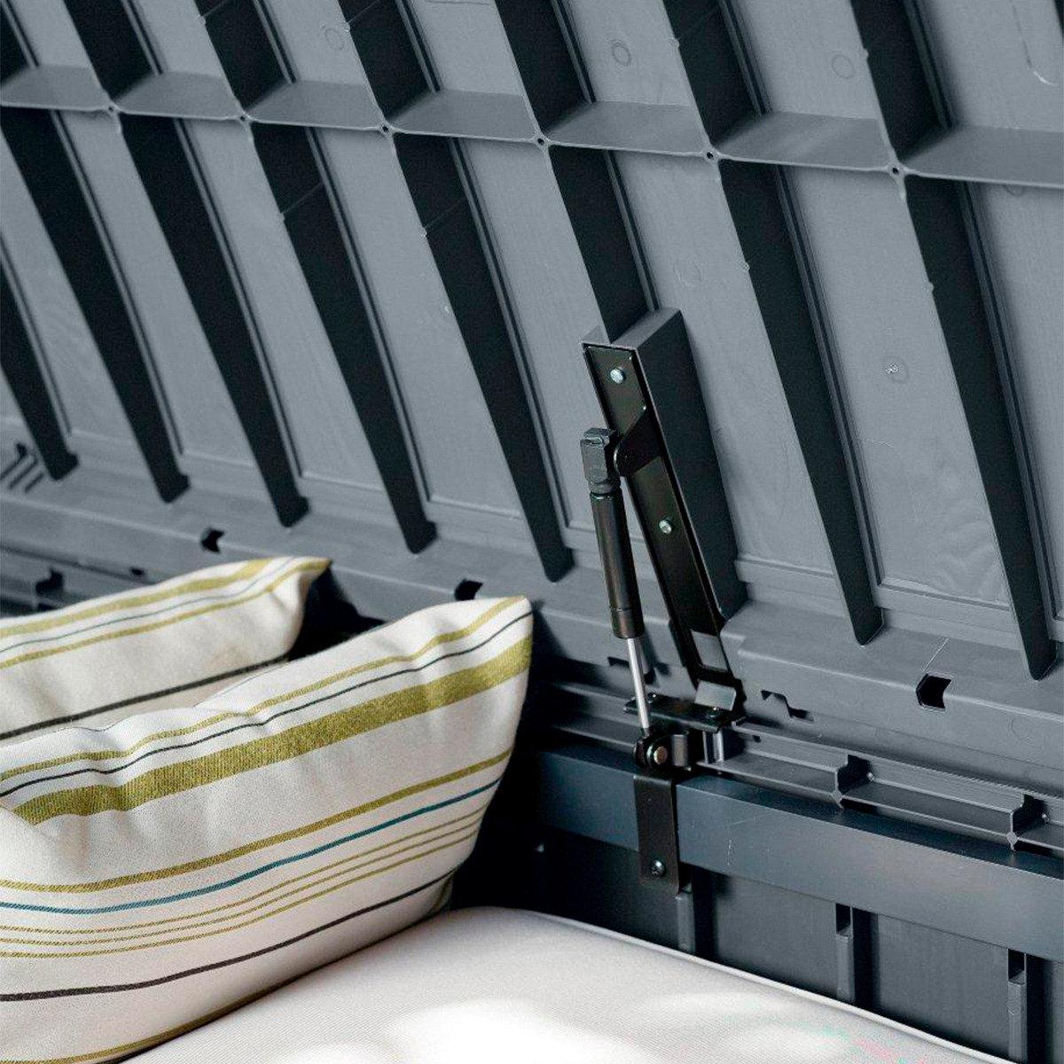 auflagenbox glenwood zum sitzen in holzoptik online kaufen bei g rtner p tschke. Black Bedroom Furniture Sets. Home Design Ideas