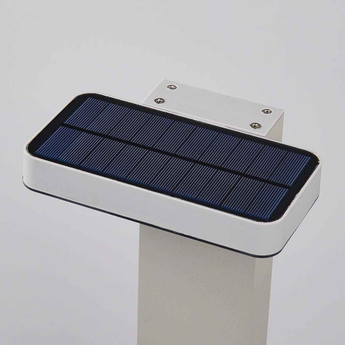 LED-Sockelleuchte Maik mit Bewegungsmelder, 60x18x13 cm, Kunststoff,  grau | #5