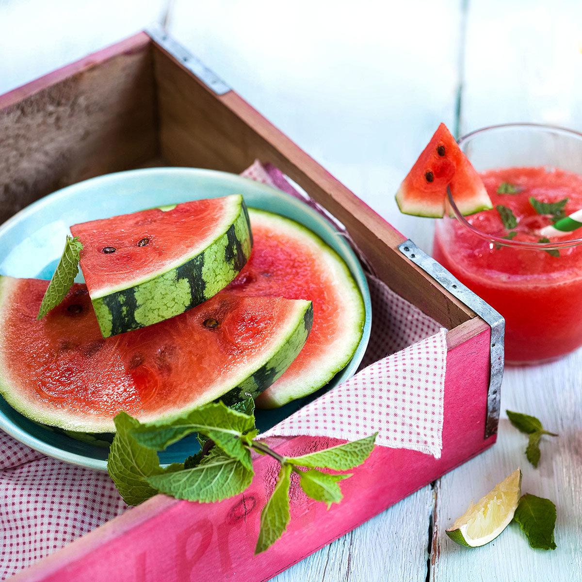 Mini-Wassermelonenpflanze Mini Love, veredelt, im ca. 12 cm-Topf | #5