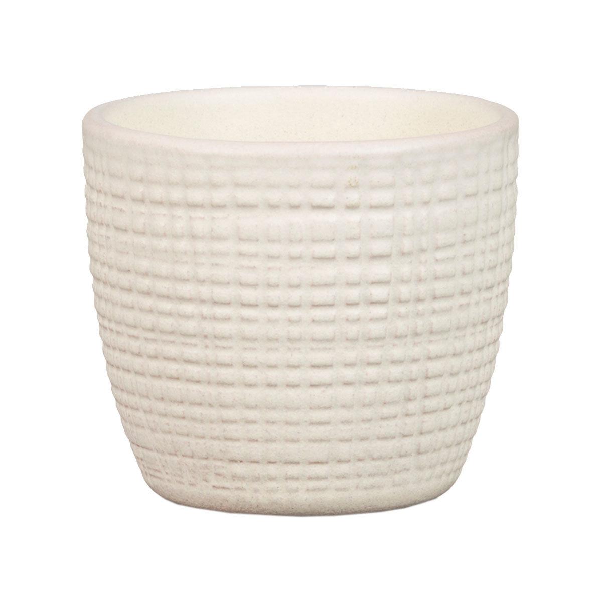 3er-Set Keramik-Übertöpfe 6cm, Vanille   #5
