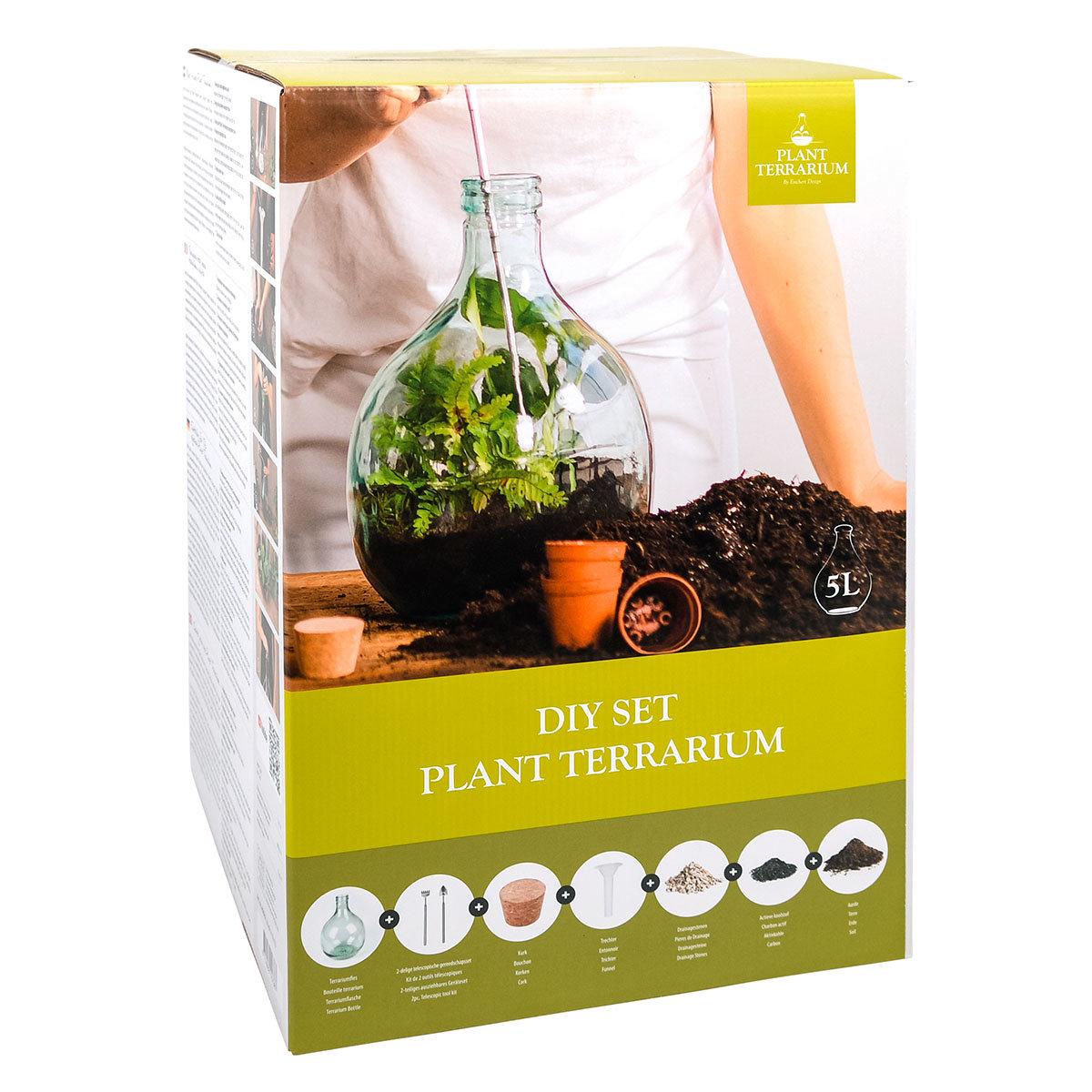 DIY Terrariumflasche Komplettset, 5 Liter | #5