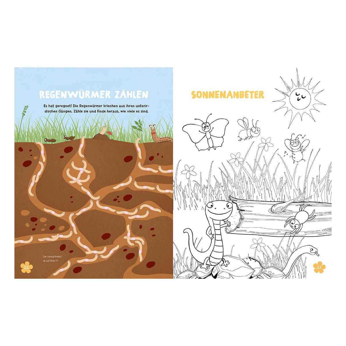 Mein Bienen, Käfer und Igel-Mitmachbuch | #5