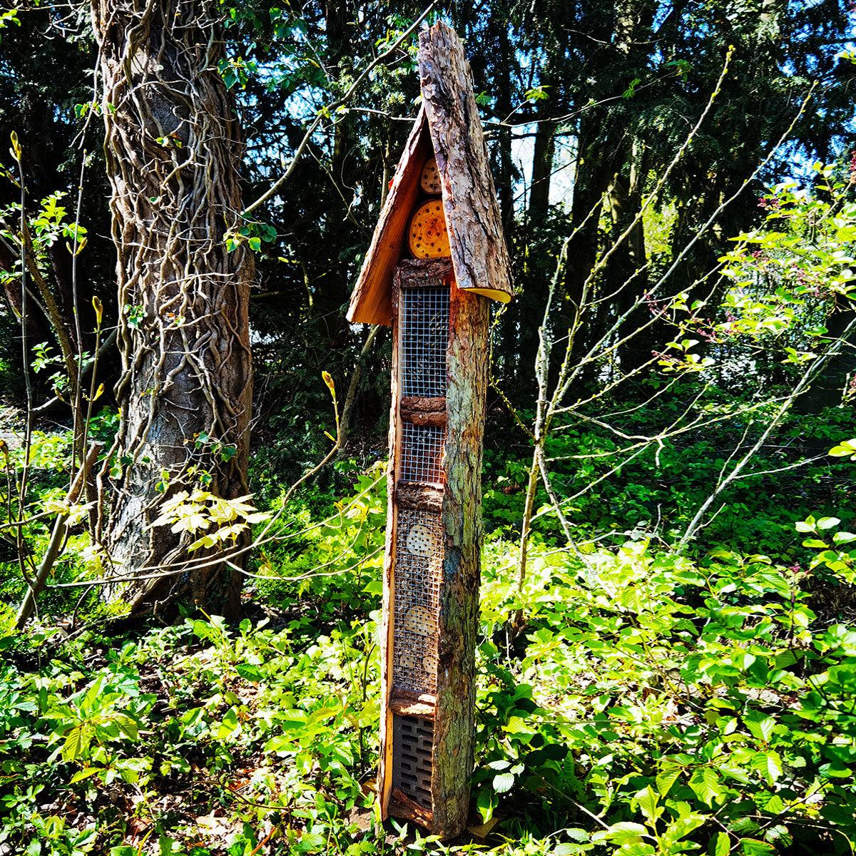 Natur-Insektenhotel Turmhotel | #5