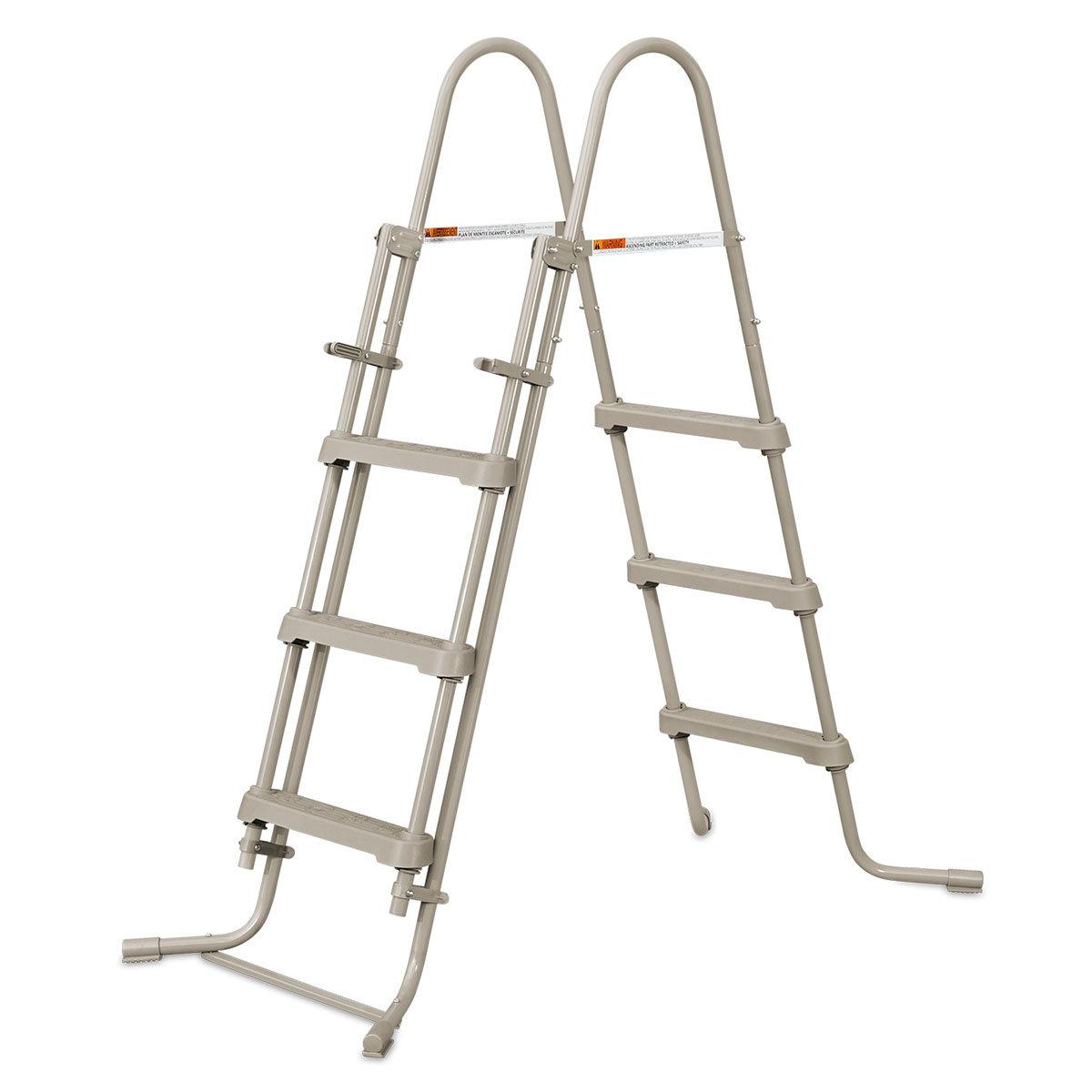 Stahlrahmenpool 457 x 106cm, mit Leiter, Filterpumpe und Abdeckung | #5