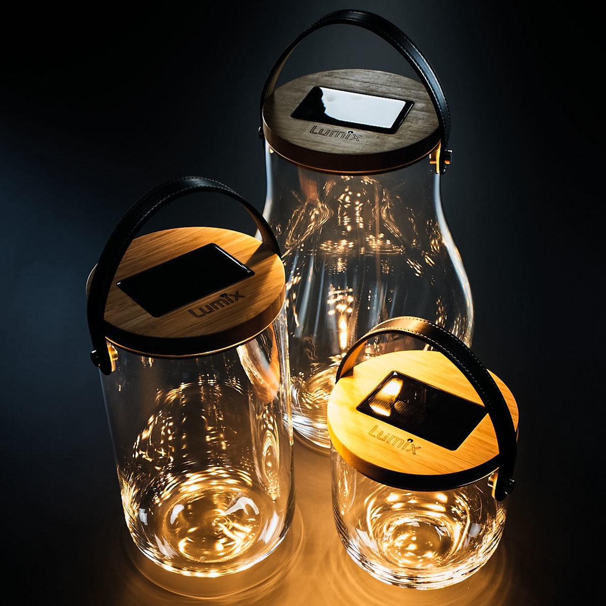 Deko Glas Basic, 15 cm, Glas, Bambus , klar | #5