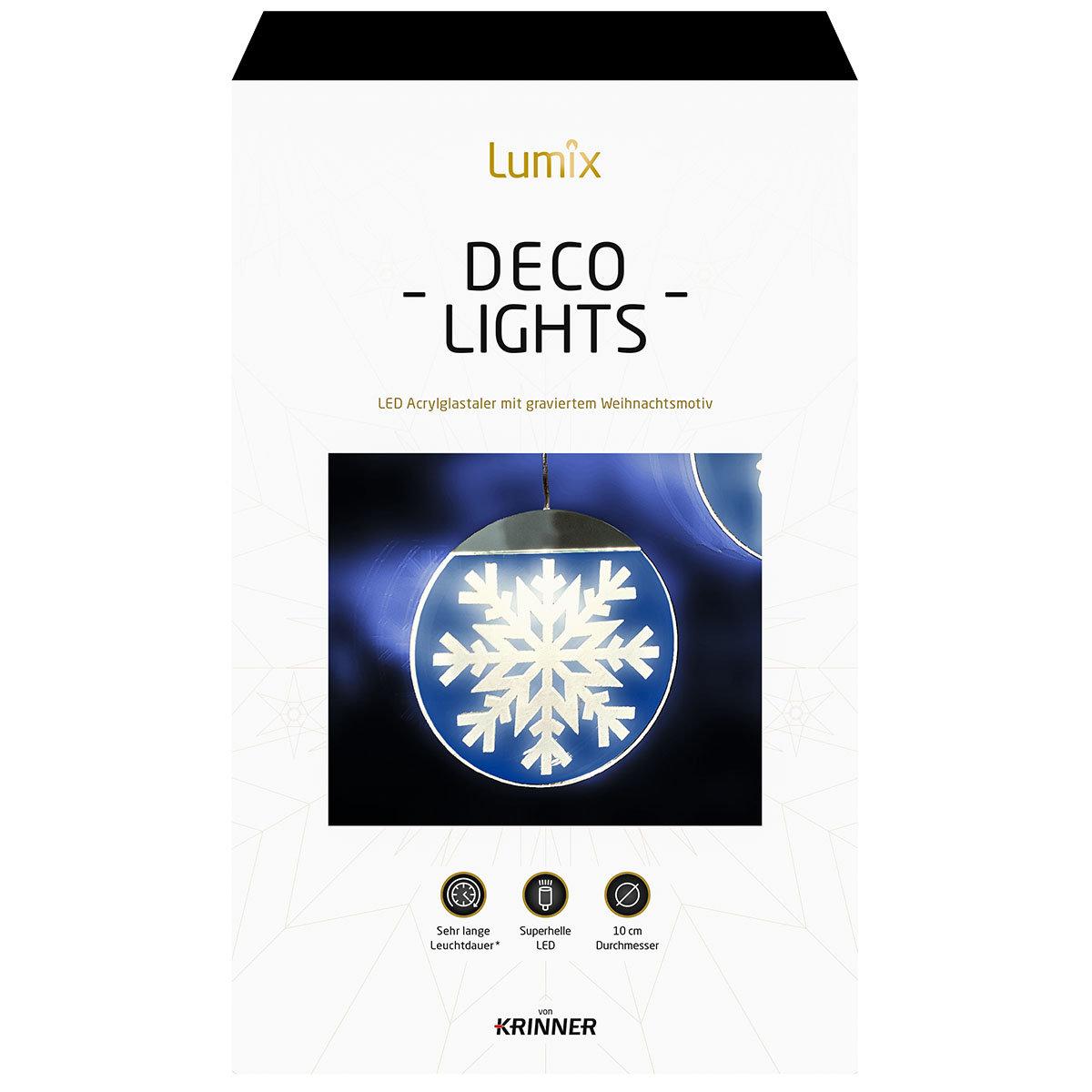 Deko-Lights Schneekristall, silber, Ø 10 cm   #5