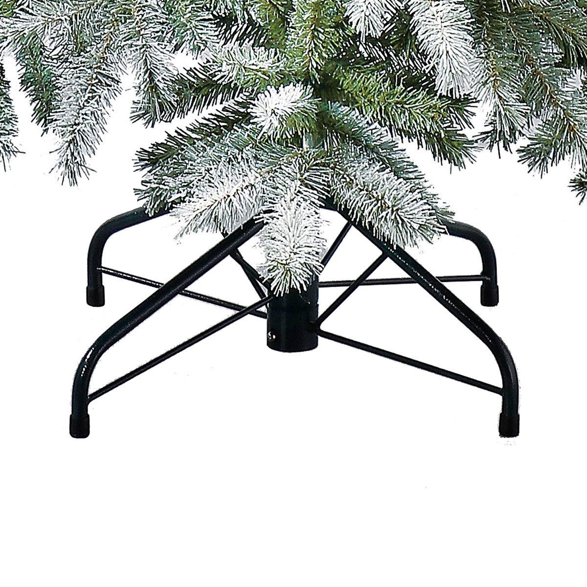 Künstlicher Weihnachtsbaum Fichte, Schneeoptik, 180 cm   #5