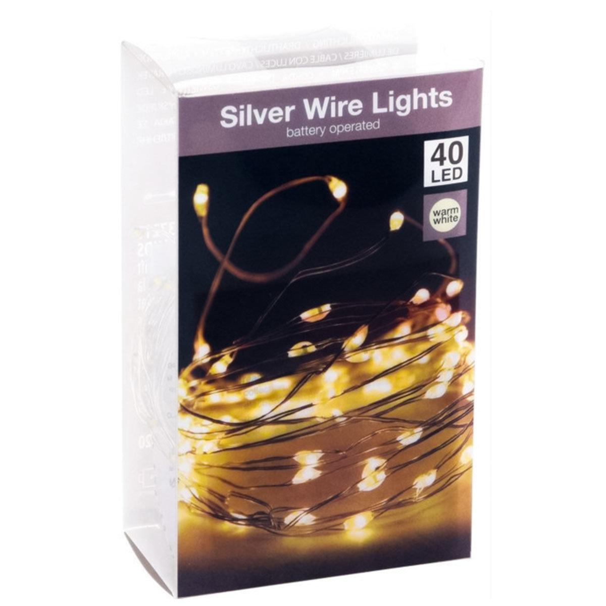 LED-Silberdraht, weiß | #5