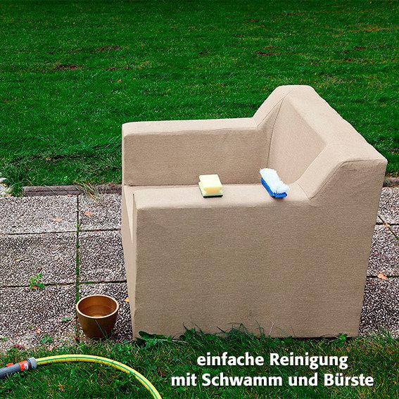Outdoor Sessel Daisy ohne Armlehnen beige | #5