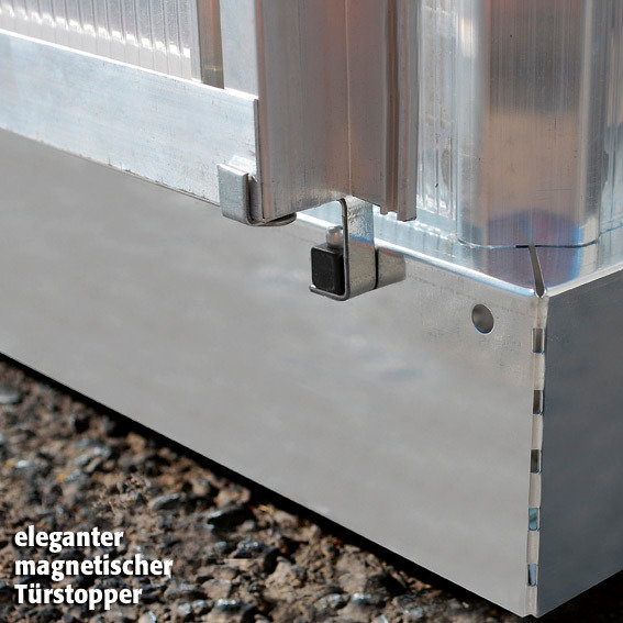 Gewächshaus Inter Line 6 x 10 inkl. Stahlfundament | #5