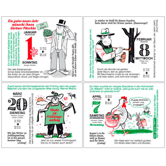 Gärtner Pötschkes Tages-Garten-Kalender Der Grüne Wink® | #5
