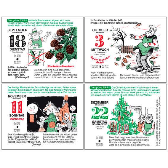 Gärtner Pötschkes MAXI-Abreißkalender Der große Grüne Wink® | #5